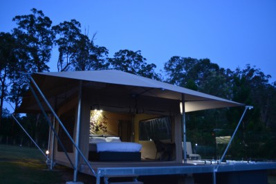 Flying Fox Eco-Tent 2 Night Stay